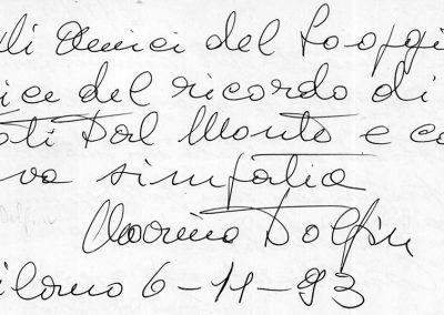 106 - DOLFIN - 6 novembre 1993