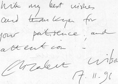 176 -WILSON - 17 febbraio 1996