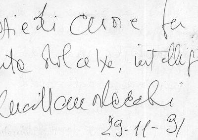 43 - MORLACCHI - 29 novembre 1991