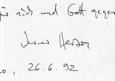 67 - HERCZOG - 26 giugno 1992