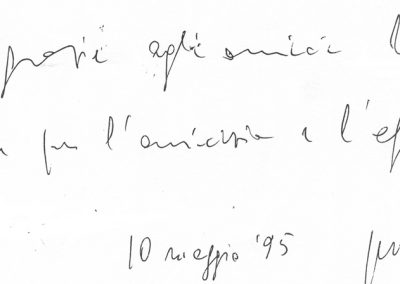 GIACOMO MANZONI-10 maggio 1995